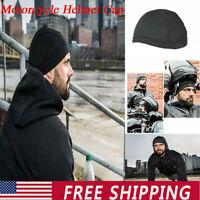 Moisture Wicking Cooling Skull Cap Inner Liner Helmet Beanie Dome Sweatband USA