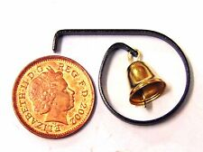 1:12 Scale Metal Shop Door Bell Tumdee Dolls House Miniature Fairy Accessory 966