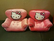 Hello Kitty Build A bear Plush Chair Set of 2