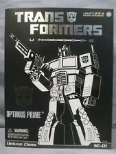 Transformers Universe SE-01 OPTIMUS PRIME Special Edition Deluxe Class 2008