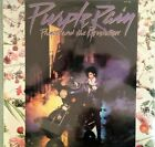 PRINCE & REVOLUTION MUSIC FROM THE MOTION PICTURE PURPLE RAIN LP WITH POSTER NM
