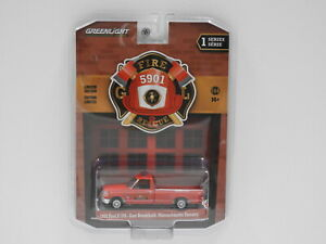 """1:64 1992 Ford F-350 - East Brookfield, Massachusetts Forestry """"Fire & Rescue"""" G"""