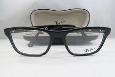 Ray-Ban RB 5279 2000 Shiny Black New Authentic Eyeglasses 53mm w/Case
