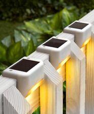 Solar Deck Lights Porch Patio Steps Yard Outdoor Lighting Home Decor