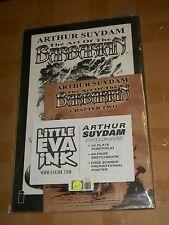 Arthur Suydam ART OF BARBARIAN Double-Pack Art Portfolio + Marvel ZOMBIES Promo