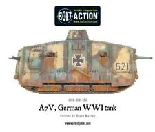 A7V GERMAN WWI TANK - WGB-GW-104  - WARLORD GAMES  - BOLT ACTION -