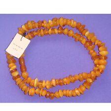 58 gr. Natural Baltic Amber Vintage Necklace Butterscotch Egg Yolk Amber beads