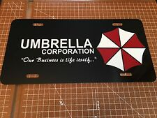 UMBRELLA CORPORATION CUSTOM LICENSE PLATE / CAR TAG