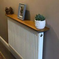 Walnut, MDF & Oak effect Wooden Radiator shelves *custom sizes available*