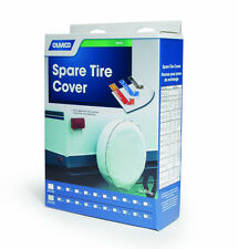 "Camco 45344 Vinyl Spare Tire Cover/29"" inches/Arctic White/RV/Camper"