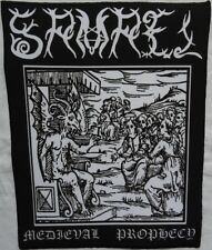 SAMAEL Medieval Prophecy Backpatch Giant Back Patch Rückenaufnäher Aufnäher Ltd