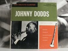 JOHNNY DODDS - NEW ORLEANS CLARINET LP VG+/EX+ USA MONO DG RLP 12-104 SMALL BLUE