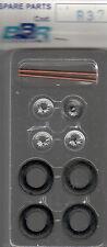 roues à rayons BBR 1/43e pour voitures années 50-55 référence R37