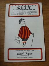 20/04/1966 Bradford City v Southport  (Rusty Staple/Mark)