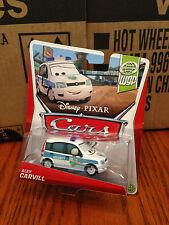 Disney Pixar Cars 2 Alex Carvill Security World Grand Prix MONMC HTF RARE