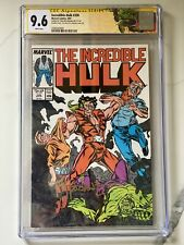 INCREDIBLE HULK #330 CGC 9.6 SS- Double Cover Signed By Todd McFarlane