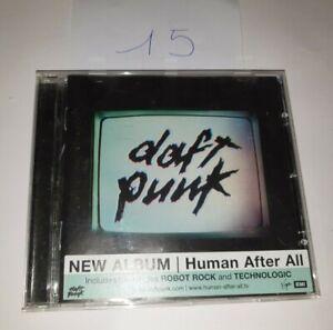 Album CD - Daft Punk - Human After All