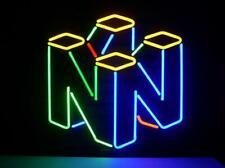 "Nintendo Game 64 Neon Lamp Sign 17""x14"" Bar Light Garage Cave Glass Artwork"