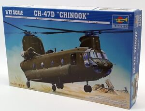 Trumpeter 1/72 Scale Model Kit 01622 - Boeing CH-47D Chinook Helicopter