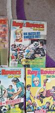 5 July Aug Dec 89 Roy Of The Rovers Comics Good condition