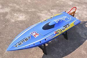 H750 Fiber Glass Blue Electric Race PNP RC Boat W/ MotorServo ESC W/O Battery