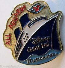 Disney Mc Donalds Disney Cruise Line DCL Pin