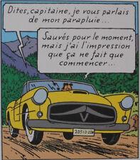 HERGE (d'après) -  TINTIN L'affaire Tournesol - 3 Lithographies EX LIBRIS #2011