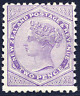 NEW ZEALAND 1882-1900 DIE III 2D LILAC FRESH MOUNTED MINT. STANLEY GIBBONS 196a.