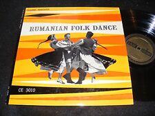 RUMANIAN FOLK DANCE Classic Editions Wallachia CARPATHIAN Oltenian 1960s WORLD