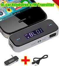 Wireless 3.5mm FM Radio Transmitter USB for HTC Samsung iPhone 6 Plus 5S 5 CIT