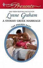 A Stormy Greek Marriage ( Graham, Lynne ) Used - VeryGood