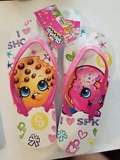 Shopkins Girls Sandals Size 2/3 Cookie and Donut