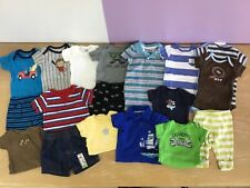 Infant Boy's Clothing Lot of 19 Pieces Size 0-3 Months