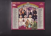 THATS ENTERTAINMENT PART ONE AND TWO  MINT SEALED VIDEO VHS PAL  A RARE FIND