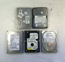 """Lot of 5, 40GB IDE 3.5"""" HDD assorted brands"""