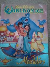 WALT DISNEY'S WORLD ON ICE 1993 ALADDIN SOUVENIR PROGRAM