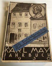 KARL MAY JAHRBUCH 1930 ILLUSTRIERT RADEBEUL BEI DRESDEN - 13. JG