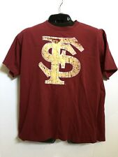 Florida State Seminoles Garnet T-Shirt Made For Footlocker - L, EUC