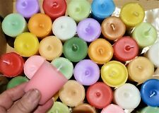** MYSTERY MIX** SUPER scented VOTIVE candles. BULK -30-  hand made. Long burn.