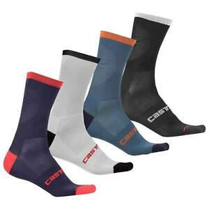 4 pairs castelli routa cycling socks all size