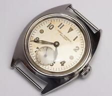 "1940s vintage GIRARD-PERREGAUX ""AMPHIBIAN"" Mens Military Wristwatch, EXCELLENT"