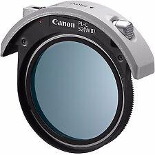 New Canon PL-C 52 W II (WII) drop-in circular polarizing filter / PL-C 52(WII)