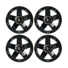 4Pcs 2.2 Alum Beadlock Wheel Rims For RC 1/10 TRAXXAS TRX-4 SCX10 Wraith