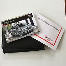 Vauxhall NUEVO MERIVA LIBRO DE MANTENIMIENTO MANUAL & Funda Paquete - 2014-2016