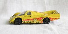Rare Corgi Toys # 100 PORSCHE 956 voiture de course BOSCH Seiko ESSO Diecast 1985