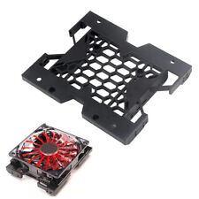 "5.25"" to 3.5"" 2.5"" SSD HDD Tray Caddy Case Adapter Cooling Fan Mounting Bracket"