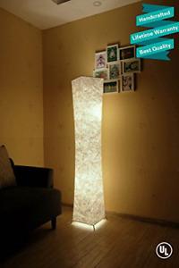 LEONC Design 61'' Creative LED Floor Lamp, Softlighting Minimalist Modern with &