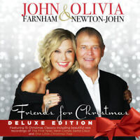 JOHN FARNHAM & OLIVIA NEWTON-JOHN FRIENDS FOR CHRISTMAS Deluxe Edition CD NEW