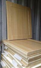 Kitchen Unit Cabinet Door and Drawer Fronts Light Oak Effect Shaker Panels