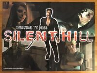 Silent Hill 1 Rare Promo Game Poster 1999 Art PS1 PSX Playstation 1